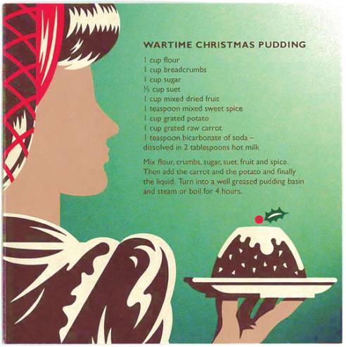 wartimechristmaspudding
